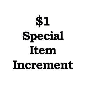 1 increment