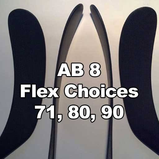 AB8 Blade Profile and Flex Options