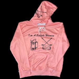 hoodie simple pink front 510x510 1