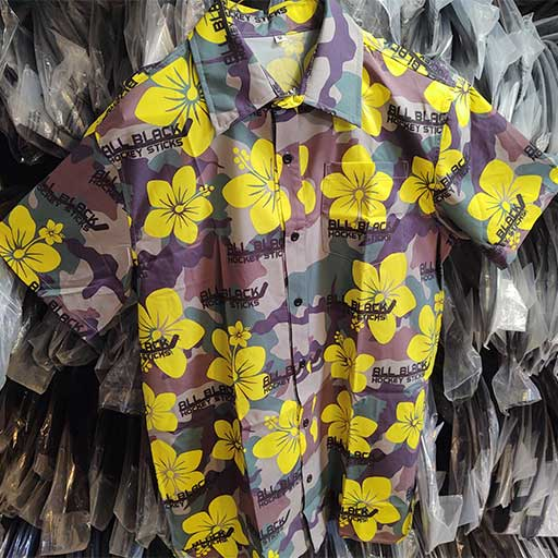 hawaiian shirt yellow
